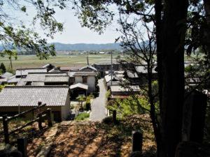 棒原神社(皇大神宮 摂社)の社窓風景