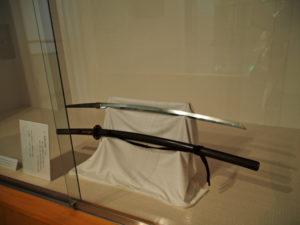 展示番号1、幕末田丸の名刀展(村山龍平記念館)