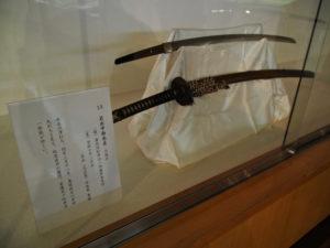 展示番号13、幕末田丸の名刀展(村山龍平記念館)