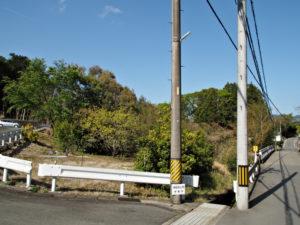 赤井橋(横輪川)付近