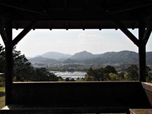 赤井山々頂からの風景