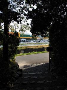 田上大水神社・田上大水御前神社(ともに豊受大神宮 摂社)の社窓風景