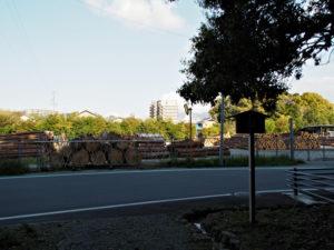山末神社(豊受大神宮 摂社)の社窓風景