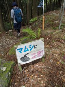荷坂峠〜登り口