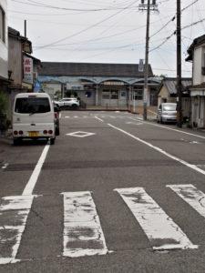 JR紀勢本線 紀伊長島駅付近