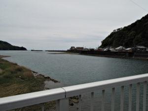長島橋から望む赤羽川下流側