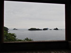 佐甫道の展望台(熊野古道伊勢路)からの風景