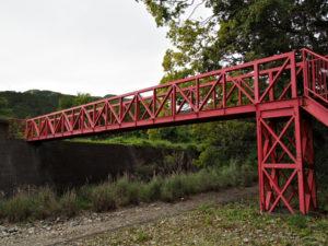 若宮神社付近の橋(北牟婁郡紀北町道瀬)