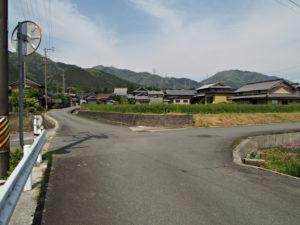 玉垣城址の案内板付近〜濃州道との合流点(巡見道)