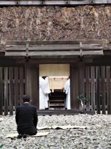 神御衣奉織始祭(神服織機殿神社、八尋殿)