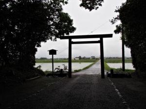神服織機殿神社(皇大神宮 所管社)からの風景