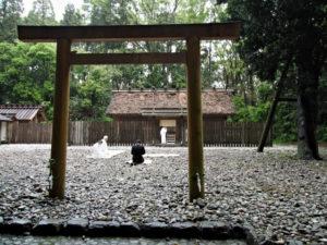 神御衣奉織始祭(神麻続機殿神社、八尋殿)