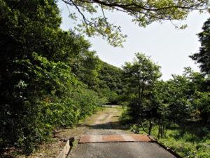 粟皇子神社へ(旅荘 海の蝶)