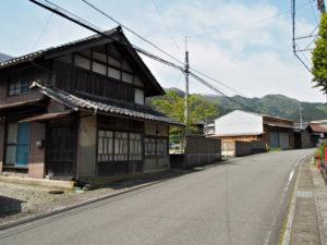 巡見道との合流点〜山口東 バス停(濃州道)