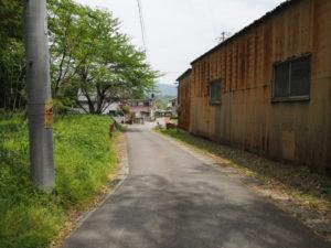 長尾廃寺の説明板〜道標[8](濃州道)