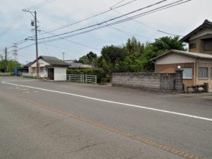 いなべ市福祉バス中里線 東日内 バス停付近