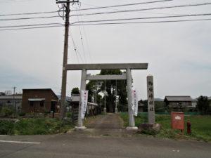 御厨神明社(いなべ市藤原町日内)