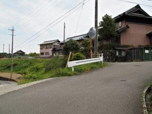 川合神社〜下川合 バス停(濃州道)