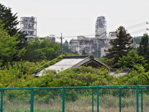 国道306・365号の志礼石新田交差点(濃州道)付近からの風景