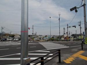 国道306・365号の鎌田交差点(濃州道)