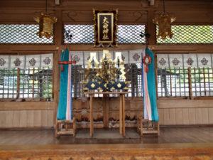 大西神社[32](いなべ市北勢町阿下喜)