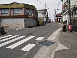 巡見道との合流点[10](濃州道)