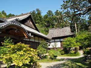 丹生山神宮寺の寺務所(多気町丹生)