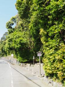 度会大玉比賣神社(豊受大神宮 摂社)ほかの参道入口付近