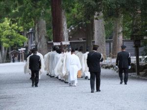 風日祈祭・正宮への参進(外宮)