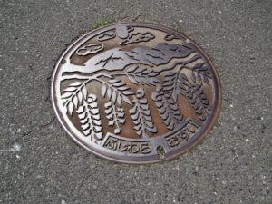 坂本公会堂前〜敬善寺(巡見道)