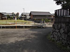 小滝川に架かる橋(巡見道)