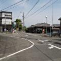坂本公会堂前の分岐(巡見道)