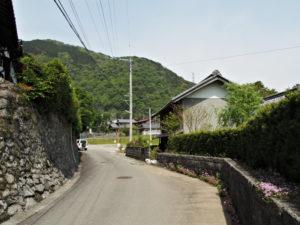敬善寺付近の2つ目の分岐へ(巡見道)