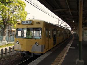 三岐鉄道三岐線 近鉄富田駅にて