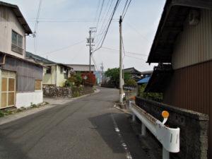 巡見道(誓願寺〜西藤原駅北口 バス停)