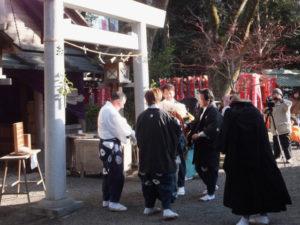 2014年01月11日 服部勝行さん、御頭神事(世木神社)