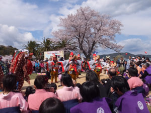 2014年04月06日 鳥羽の「獅子と天狗の舞」