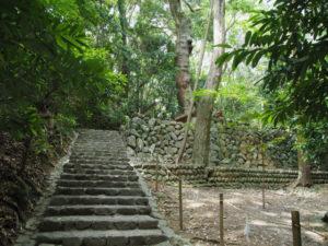 伊我理神社(豊受大神宮 末社)への石階