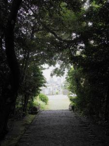 堅田神社(皇大神宮 摂社)の社窓から