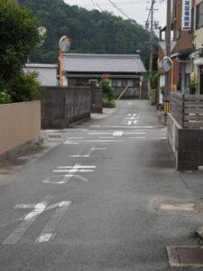 御塩道(伊勢市二見町山田原)