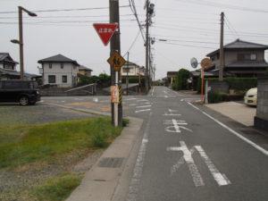御塩道(伊勢市二見町山田原・溝口)