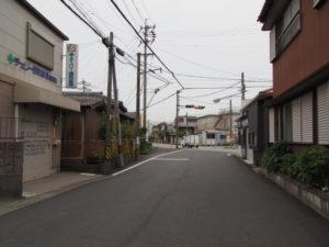 御塩道(浜郷小学校付近)