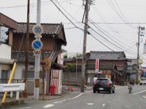 御塩道(楠木商店前)(二見街道 神久交差点付近)