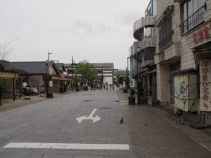 外宮参道(伊勢市駅前方向)