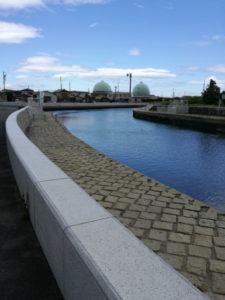 勢田川(有連橋への分岐付近)