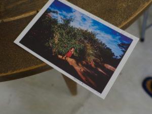 北井一夫写真展「カラー いつか見た風景」の案内はがき