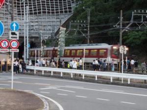 赤崎神社(豊受大神宮 末社)付近の踏切