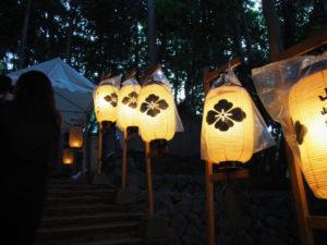 赤崎祭(ゆかた祭り)、赤崎神社(豊受大神宮 末社)