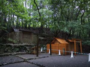 大山祗神社(皇大神宮 所管社)と仮殿