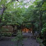 仮殿が建てられた大山祗神社・子安神社(共に皇大神宮 所管社)